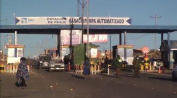 Gobernación y Tránsito realizan inspecciones sorpresivas en carretera Potosí -Sucre