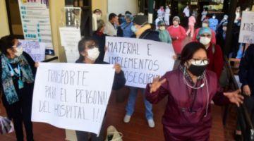 Hay cerca 140 infectados en el personal de salud de Cochabamba y el 60 % son del trópico