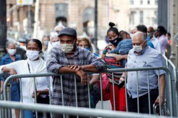 Brasil sobrepasa las 52.000 muertes y alcanza los 1.145.906 infectados