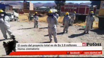 Inician las obras del horno crematorio en Potosí