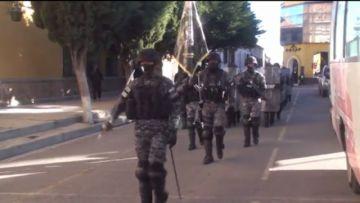 Policía en Potosí reafirma compromiso con la ciudadanía en su aniversario 194