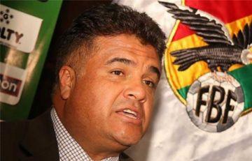 """Freddy Téllez presenta su """"renuncia irrevocable"""" al cargo de director general ejecutivo de la Federación Boliviana de Fútbol"""