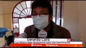 Un exministro de Minería habla de deshacerse de la ley minera
