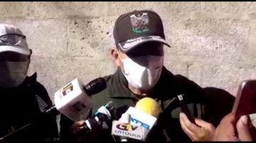 Interpol efectúa el control de migrantes venezolanos en Potosí