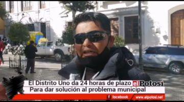 Dirigentes del distrito 1 dan ultimátum a los concejales en Potosí