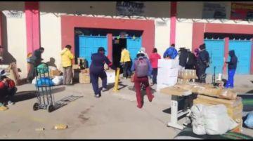 Solo una empresa de transporte realiza el servicio de encomienda en Potosí
