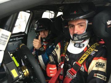 Sebastián Careaga correrá en 2021 seis pruebas de rali en Europa