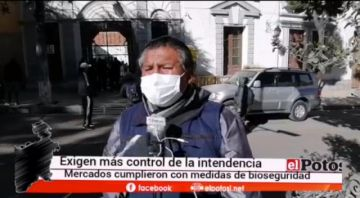 Gremiales aseguran que todos cumplen con normas de bioseguridad en Potosí