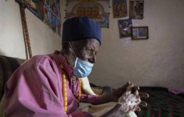 Monje etíope de 114 años sobrevive al coronavirus