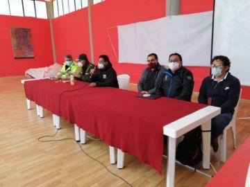 Se instala la reunión del COEM en Potosí