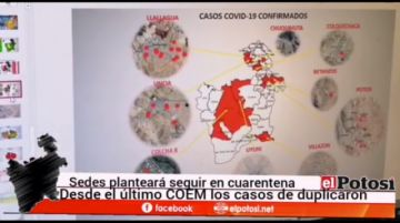 Sedes Potosí planteará no flexibilizar la cuarentena por aumento de casos COVID-19