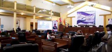 Asamblea Legislativa realizó al rendición de cuentas inicial 2020