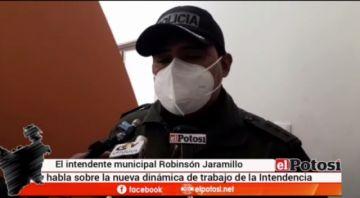 Intendencia de Potosí advierte sanciones como clausuras si no se cumple la bioseguridad