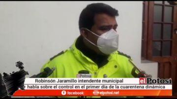 Intendencia advierte disminución del comercio ambulante en Potosí