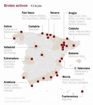 España supera la barrera de los 250.000 casos de coronavirus