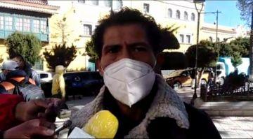 Carlos Carmona dice que trabaja y espera el amparo planteado por Luis Alberto López