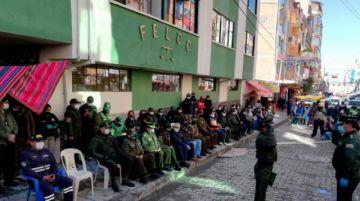 Reinauguran el edificio de la FELCC-El Alto, refaccionado tras quema en conflictos de noviembre