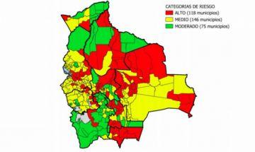 COVID-19: Sube a 118 la cantidad de municipios en Riesgo Alto