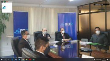 BDP presentó de rendición pública de cuentas inicial 2020 de manera virtual