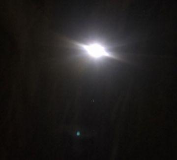 Vea un eclipse penumbral de Luna y alineación de planetas esta noche