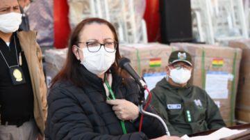 El Gobierno confirma que la ministra de Salud, Eidy Roca, dio positivo a COVID-19