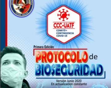 Lea los protocolos de bioseguridad de la UATF para  docentes, estudiantes, administrativos y población
