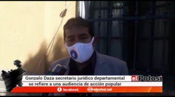 Ciudadano presenta acción popular contra instituciones por accionar durante la pandemia