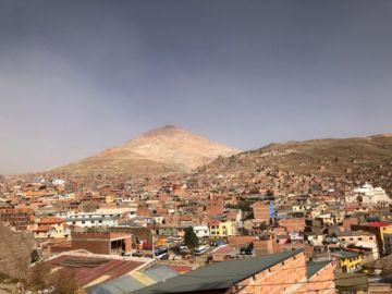 Potosí vivió una fría jornada con vientos de hasta 50.4 KM/H