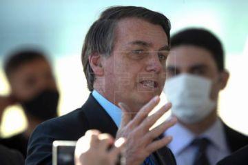 Demandarán a Bolsonaro por poner en riesgo a los periodistas al anunciar su positivo por coronavirus