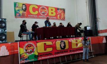 Ampliado de la COB decide marcha en los nueve Departamentos para el martes