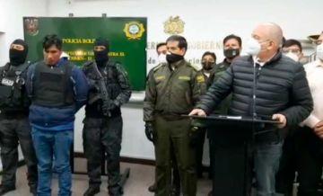 """Caso Esther: Murillo dice que detenido es """"asesino confeso"""" y pretendía fugar a Perú"""