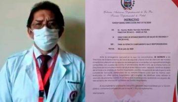 La Paz: Sirmes rechaza instructivo del Sedes sobre atención a pacientes con síntomas COVID-19
