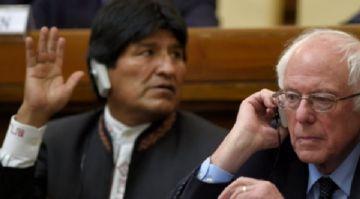 Embajador de Bolivia en EE.UU. pide a senador Sanders que no defienda a Evo Morales