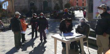 Inician campaña para devolución de las AFPs en Potosí