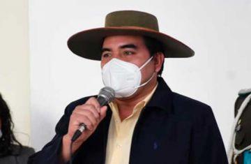 Gobernador de Chuquisaca tiene coronavirus y trabajará desde el aislamiento