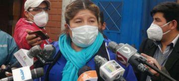 Gobernadora Soria ve afán desestabilizador en audio filtrado y dice que sí cree que existe el virus del COVID-19