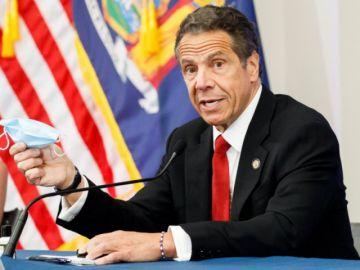 El gobernador de Nueva York teme un nuevo incremento de casos de coronavirus