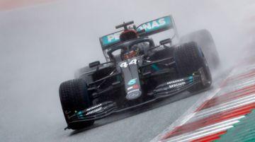"""El británico Lewis Hamilton hizo la """"pole"""" y largará primero en el GP de Estiria"""