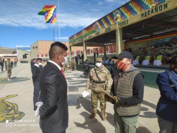 Se licencian 105 soldados que lucharon por la democracia y contra el COVID-19 en Potosí