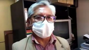 Ex jefe de epidemiología está en terapia intensiva con coronavirus