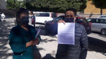 """Vecinos no quieren """"estar rodeados"""" de  centros COVID en Potosí"""