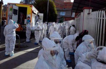 COVID-19: Bolivia está en el puesto 38 a nivel mundial en cantidad de casos registrados