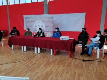 Se desarrolla la reunión del COEM para definir medidas en Potosí