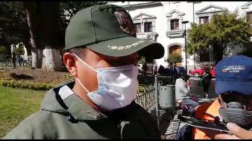 Policía informa sobre detención por presunto contrabando de lavandina