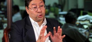 Luis Arce comenta encuestas en entrevista de Tv y rivales piden que  se elimine su candidatura