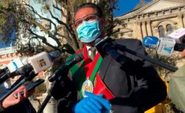 Ante aumento de casos COVID-19 en La Paz, Revilla reitera pedido de evitar las movilizaciones