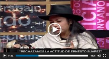 Circula video en el que Marianela Paco justifica la sanción a UD en elecciones de 2015