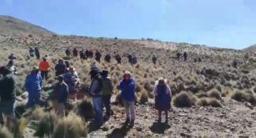 Yacimiento minero causa enfrentamientos en Calamarca