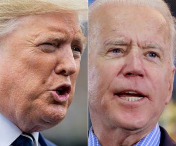 Trump llama a Biden 'incompentente' para liderar Estados Unidos