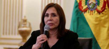 """Canciller Karen Longaric: """"Bolivia tendrá acceso a una vacuna de seis opciones de la alianza Covax Facility"""""""